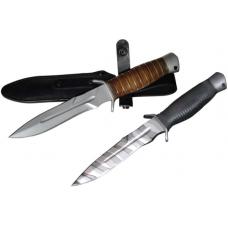 """Нож охотничий """"Кайман"""" рукоять кожа"""