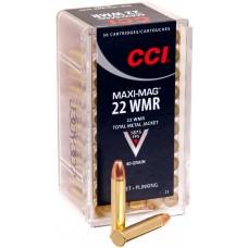CCI Ammunition 22 WMR HS Maxi Mag TMJ 2,59 гр.