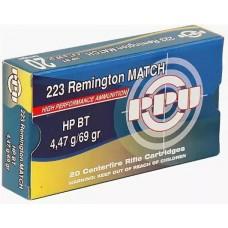 PPU 5.56*45-4,47 (.223 Rem) MATCH HP BT