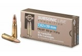 PPU 7,62*39 FMJ  Subsonic (11,8 гр.)
