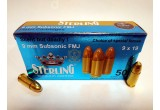 Sterling 9х19 Luger Subsonic FMJ 147 гр, 9,52 г