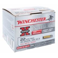 Winchester 22 WMR FMJ 2.6g