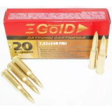 БПЗ 7.62*54-11.3 FMJ GOLD