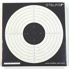 Мишень Stalker №17, 170х170 мм, 50шт