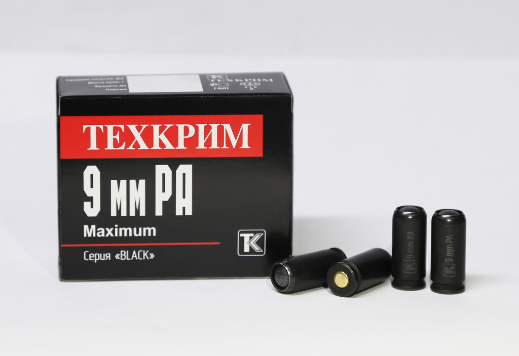 ТЕХКРИМ 9 мм РА Maximum Black